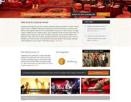 nº 20 pour Website Design for Cultural Creativity Center par Pavithranmm