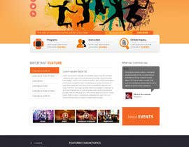 nº 30 pour Website Design for Cultural Creativity Center par zumanur