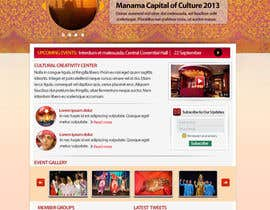 #22 cho Website Design for Cultural Creativity Center bởi NeogenStudios