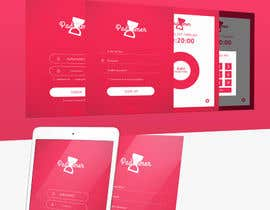 #7 for Design an App-mockup. Approx. 6 pages. Including logo. by llaflare