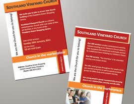 #81 para Flyer Design for Southland Vineyard Church por BenettAdv