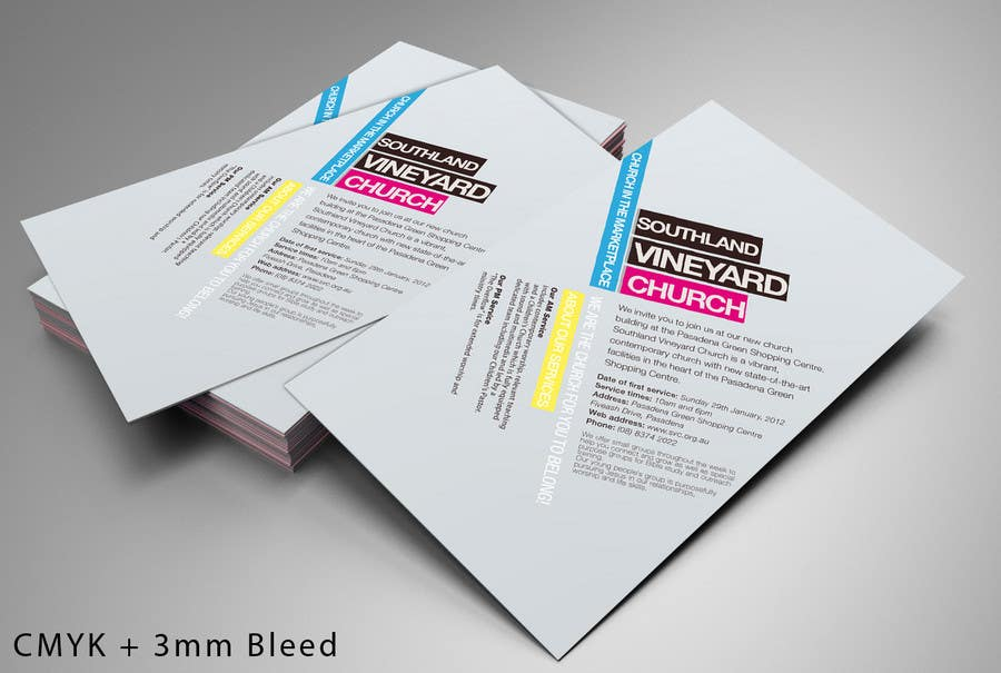 Participación en el concurso Nro.53 para Flyer Design for Southland Vineyard Church