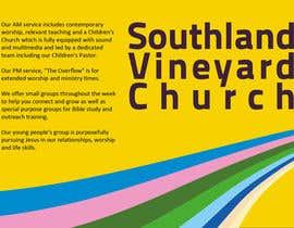 #94 for Flyer Design for Southland Vineyard Church by SeljinDesign