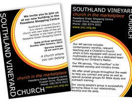 #37 for Flyer Design for Southland Vineyard Church by leec80
