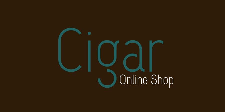 Contest Entry #54 for Logo Design for Cigar Online Shop