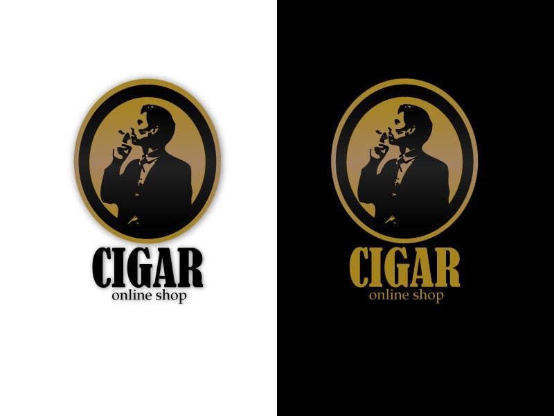 Penyertaan Peraduan #43 untuk Logo Design for Cigar Online Shop