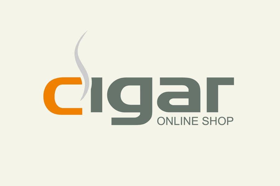Inscrição nº 213 do Concurso para Logo Design for Cigar Online Shop