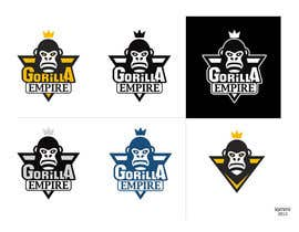 "#60 for Design a Logo for ""Gorilla Empire"" af andyiommi"