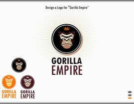 "#36 para Design a Logo for ""Gorilla Empire"" por roman230005"