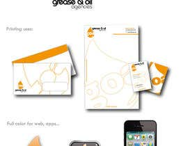 #25 for Design a Logo for GREASE & OIL AGENCIES af Fran2811