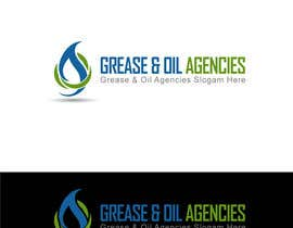 #21 para Design a Logo for GREASE & OIL AGENCIES por ideaz13