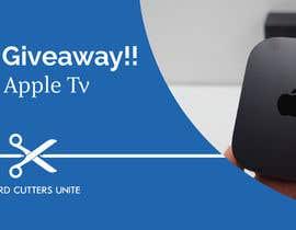 Design a Banner for Apple TV Giveaway | Freelancer
