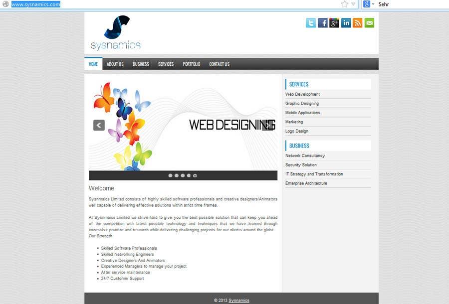 Inscrição nº                                         1                                      do Concurso para                                         Build a Website for my company 3 LINE INFOTECH (IT Consulting Services)