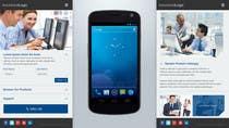 Bài tham dự #5 về Graphic Design cho cuộc thi Design a Mobile Website Mockup for a multinational insurance company