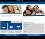 Bài tham dự #16 về Graphic Design cho cuộc thi Design a Mobile Website Mockup for a multinational insurance company