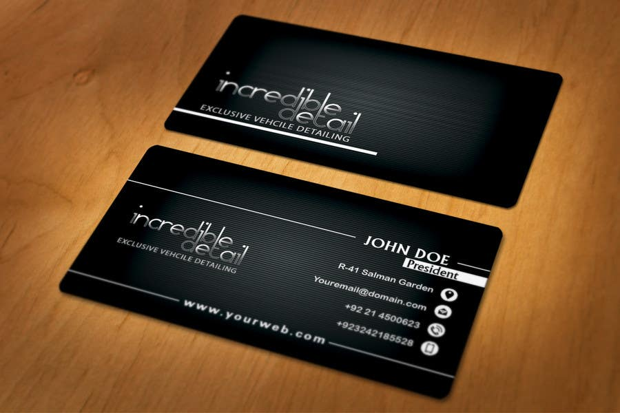 Gallery For Car Detailing Business Cards
