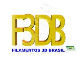 Nro 37 kilpailuun Logo para Filamentos 3D Brasil käyttäjältä ateval
