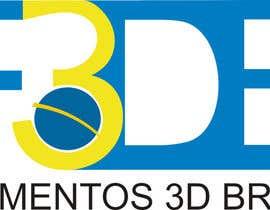 Nro 1 kilpailuun Logo para Filamentos 3D Brasil käyttäjältä Lucasvdsalles