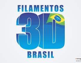 #29 cho Logo para Filamentos 3D Brasil bởi CaDesigner1