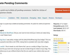 #10 para Delete comments from wordpress site por amandakrause