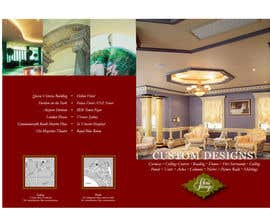 artius tarafından Brochure Design for Chris Savage Plaster Designs için no 26