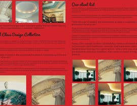 nº 34 pour Brochure Design for Chris Savage Plaster Designs par ShinymanStudio
