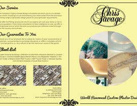 #31 untuk Brochure Design for Chris Savage Plaster Designs oleh ShinymanStudio