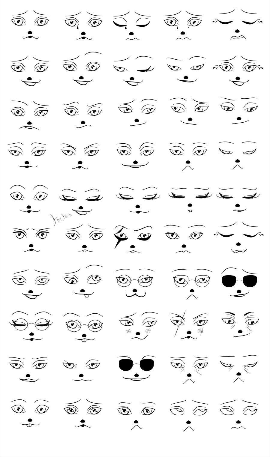 Facial Outline 79