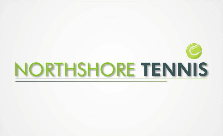 "Intrarea #48 pentru concursul ""Logo Design for Northshore Tennis"""