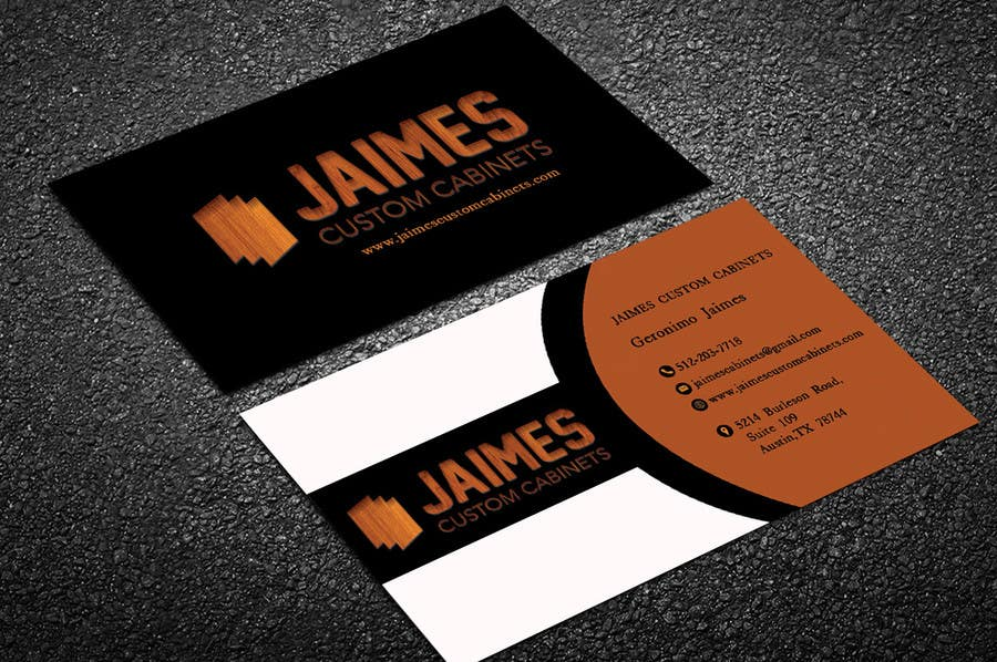 Entry 2 by lipiakhatun586 for design some business cards for contest entry 2 for design some business cards for cabinet maker colourmoves