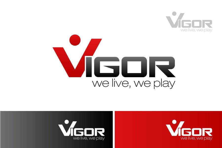 Contest Entry #                                        131                                      for                                         Logo Design for Vigor (Global multisport apparel)
