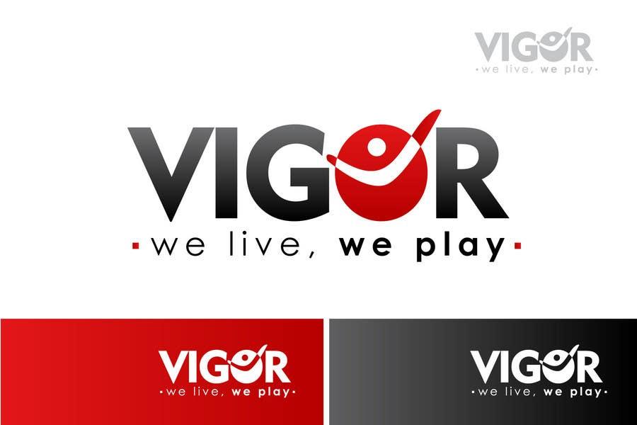 Contest Entry #                                        133                                      for                                         Logo Design for Vigor (Global multisport apparel)