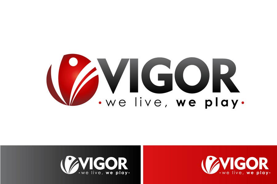 Contest Entry #                                        378                                      for                                         Logo Design for Vigor (Global multisport apparel)