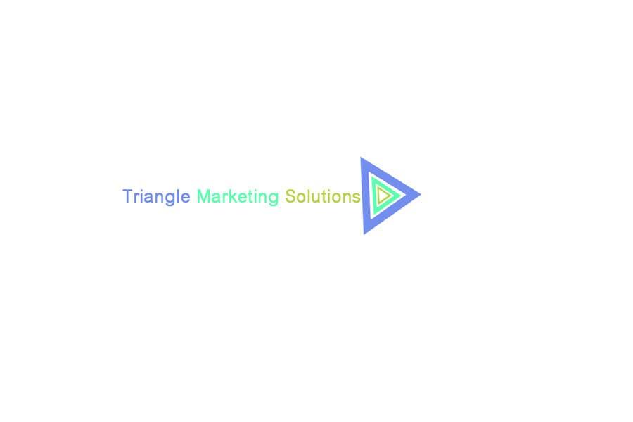Penyertaan Peraduan #62 untuk Design a Logo for Traingle Marketing Solutions