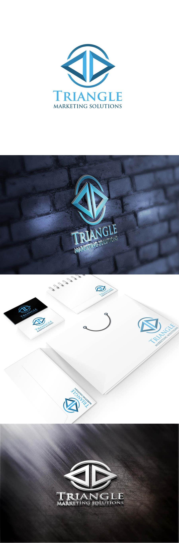 Penyertaan Peraduan #38 untuk Design a Logo for Traingle Marketing Solutions