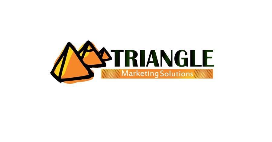 Penyertaan Peraduan #7 untuk Design a Logo for Traingle Marketing Solutions