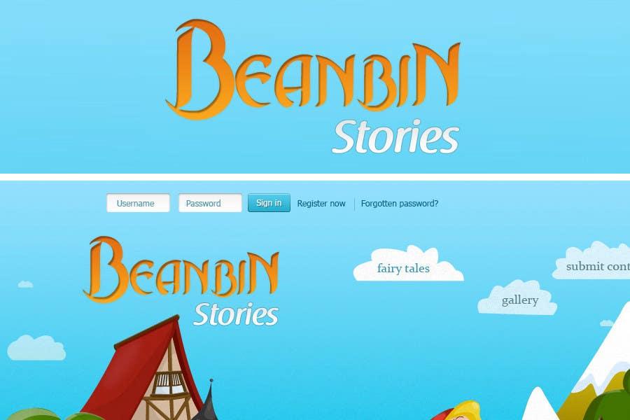 Конкурсная заявка №                                        31                                      для                                         Fairy tales Graphic Design for beanbin
