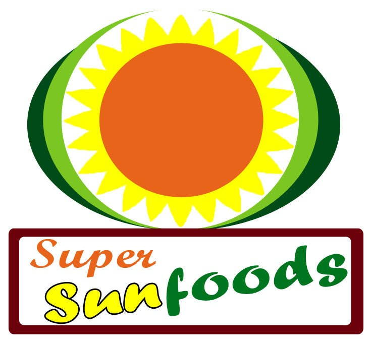 Proposition n°64 du concours Design a Logo for Super Sunfoods: Your Health Supplement Store