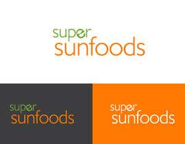 #23 para Design a Logo for Super Sunfoods: Your Health Supplement Store por hauriemartin