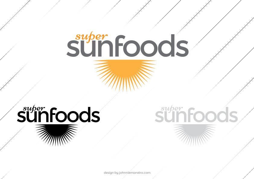 Penyertaan Peraduan #12 untuk Design a Logo for Super Sunfoods: Your Health Supplement Store