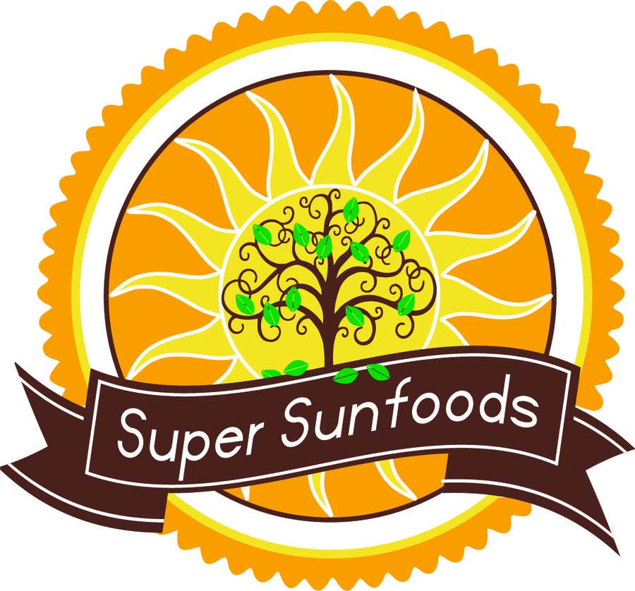 Penyertaan Peraduan #2 untuk Design a Logo for Super Sunfoods: Your Health Supplement Store