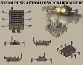 "#9 para Design Steam Punk Automatons ""Crab walker"" por jonsanchez1"