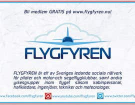 #11 for Design a flyer for an aviation social network on the Internet af filipscridon