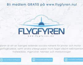 nº 16 pour Design a flyer for an aviation social network on the Internet par filipscridon