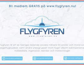 nº 20 pour Design a flyer for an aviation social network on the Internet par filipscridon
