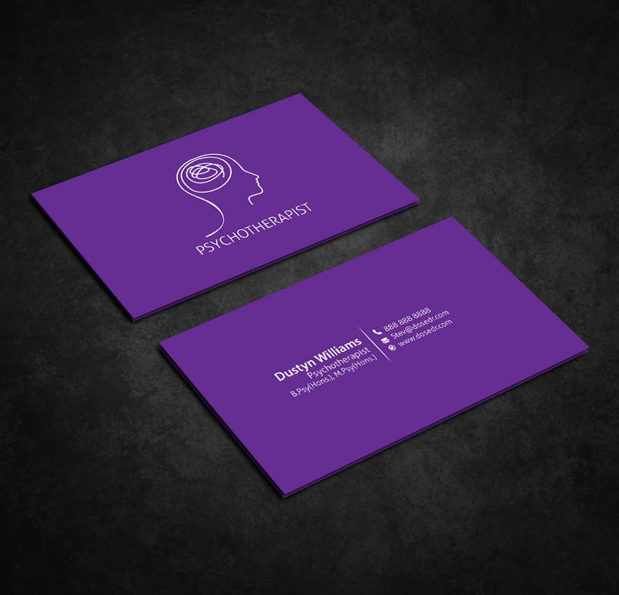 Entry 47 by dnoman20 for psychotherapy business cards freelancer contest entry 47 for psychotherapy business cards colourmoves