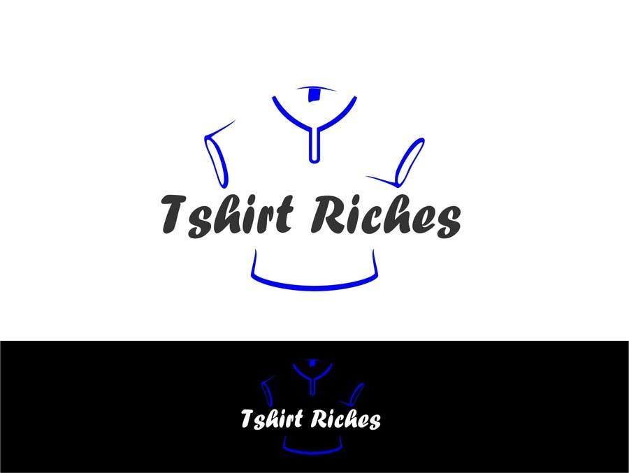Bài tham dự cuộc thi #                                        61                                      cho                                         Design a Logo for TshirtRiches