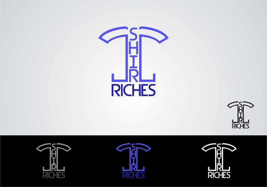 Bài tham dự cuộc thi #                                        76                                      cho                                         Design a Logo for TshirtRiches