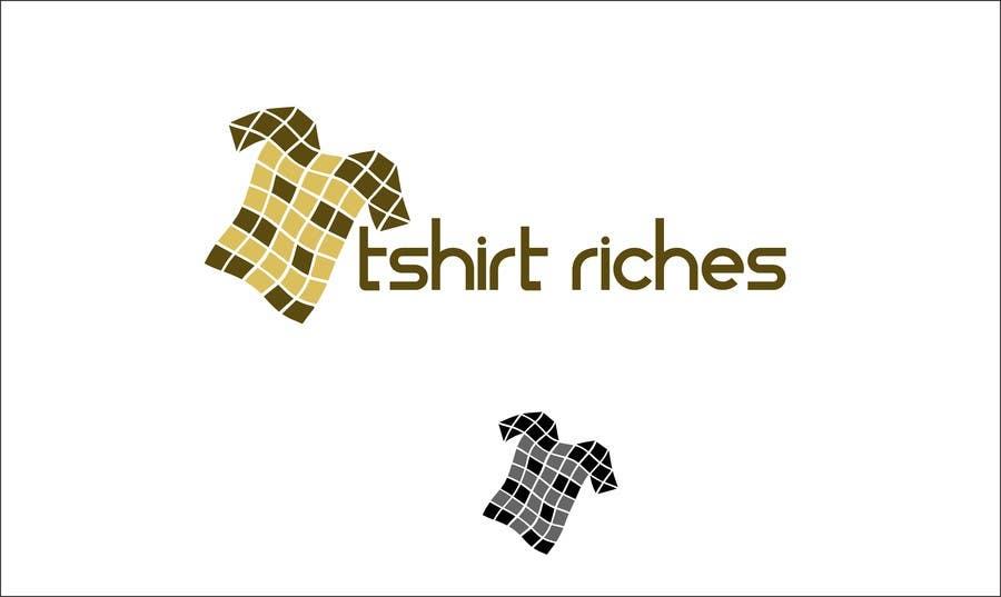 Bài tham dự cuộc thi #                                        85                                      cho                                         Design a Logo for TshirtRiches