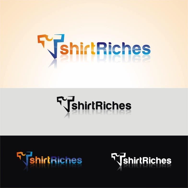 Bài tham dự cuộc thi #                                        88                                      cho                                         Design a Logo for TshirtRiches